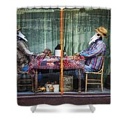 The Card Players Victor Colorado Img 8665 Shower Curtain