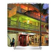 The Caribbean Hotel Shower Curtain