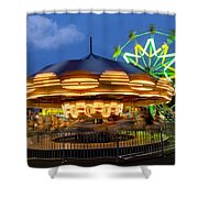 The Carnival Is In Town Shower Curtain