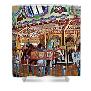 The Carousel Ride Shower Curtain