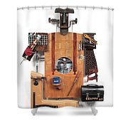 The Carpenter   #16 Shower Curtain