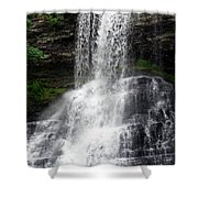 The Cascades 1 Shower Curtain
