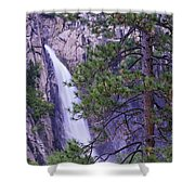 The Cascades Yosemite Np Shower Curtain