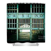 The Casino Shower Curtain