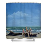 The Castaways Shower Curtain