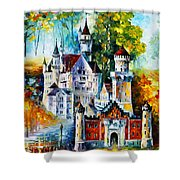 The Castle Of 4 Seasons Shower Curtain