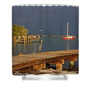 The Casual Observer Shower Curtain