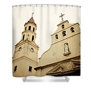 The Cathedral Basilica Shower Curtain