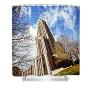 The Cathedral Of Learning 1 Shower Curtain