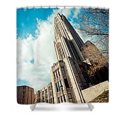 The Cathedral Of Learning 3 Shower Curtain