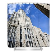 The Cathedral Of Learning 5 Shower Curtain