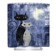 The Cats Shower Curtain