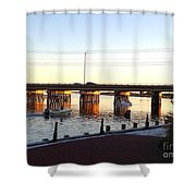The Causeway Shower Curtain