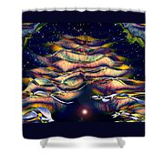The Cave Dweller Shower Curtain