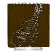 The Cello Shower Curtain