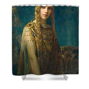 The Celtic Princess Shower Curtain