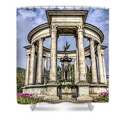 The Cenotaph Cardiff Shower Curtain