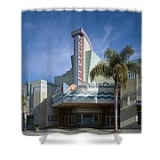 The Century Theatre In Ventura Shower Curtain