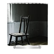 The Chair By The Window II Shower Curtain