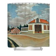 The Chair Factory At Alfortville Shower Curtain