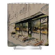 The Champs Elysees Shower Curtain