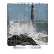 The Changing Tides Shower Curtain