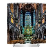 The Chapel Shower Curtain