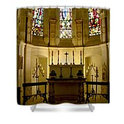 The Chapel In Chenonceau Castle Shower Curtain