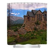 The Chapel On The Rock Shower Curtain