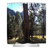 The Chapel Yosemite Shower Curtain