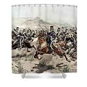 The Charge Of The Light Brigade, 1895 Shower Curtain