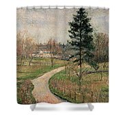 The Chateau At Busagny Shower Curtain