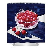 The Cherry Bowl Shower Curtain