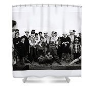 The Chiapas People Shower Curtain