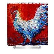 The Chicken Of Bresse Shower Curtain
