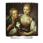 The Children Of The Painter Shower Curtain