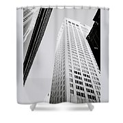 The Chippendale Building Shower Curtain