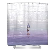 The Chosen One Shower Curtain by Holly Kempe