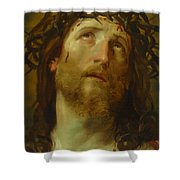 The Chosen One -  The Son Of God Who Died On The Cross For Your Sins Shower Curtain
