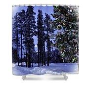 The Christmas Season Shower Curtain