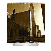The Chrysler Building In Nyc Shower Curtain