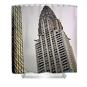 The Chrysler Shower Curtain