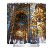 The Church Of Our Savior On Spilled Blood - St. Petersburg - Russia Shower Curtain