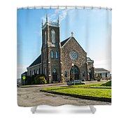 The Church Of Saint Patrick Shower Curtain