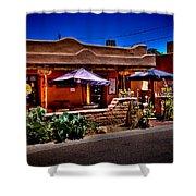 The Church Street Cafe - Albuquerque New Mexico Shower Curtain