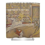 The Circus Shower Curtain