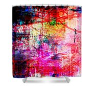 The City 11 Shower Curtain
