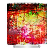 The City 11a Shower Curtain