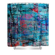 The City 15 Shower Curtain