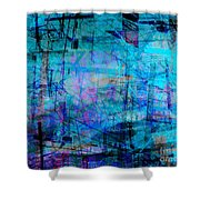The City 15a Shower Curtain